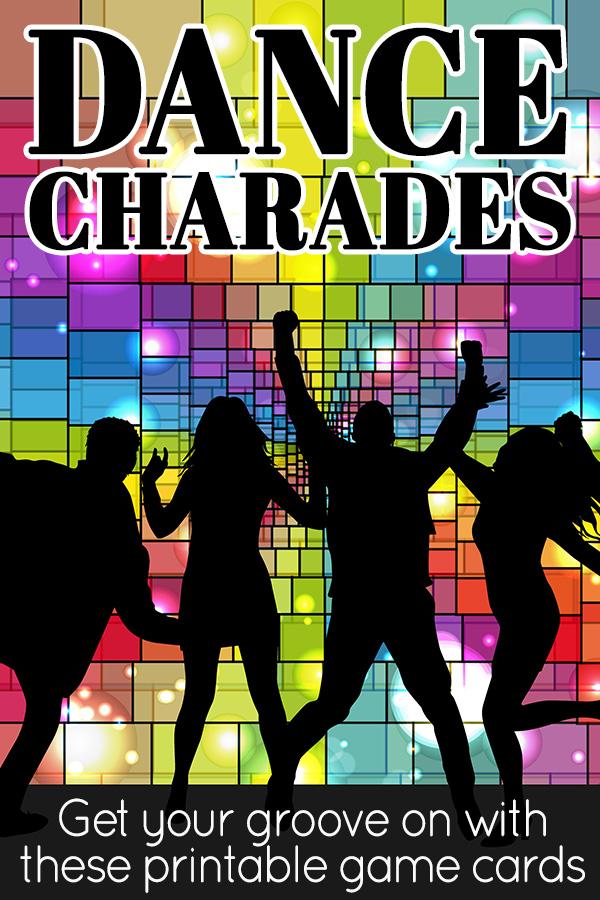 Dancing charades cards