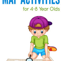 Map activities for 4 to 8 year olds