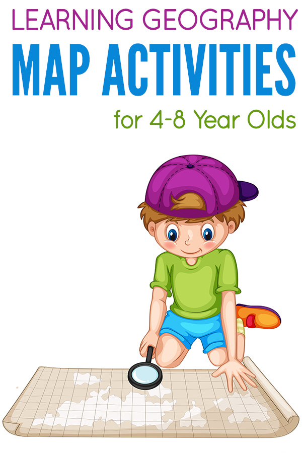 Teaching Kids About Maps Map Activities For 4 8 Year Olds - 43+ Simple Map Worksheets For Kindergarten Pics