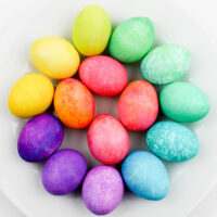 rainbow eggs tutorial