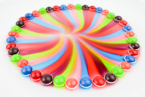 Candy Science Ideas: Skittle experiment