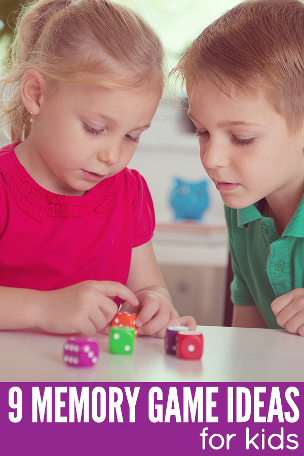 Memory game ideas for kids