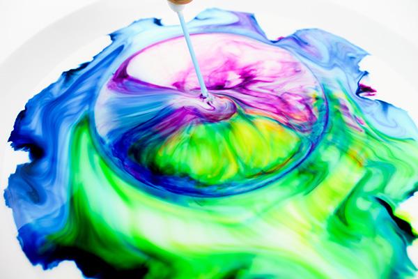 Rainbow Milk Experiment Procedure