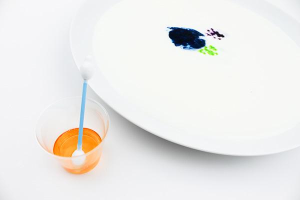 Rainbow Milk Science Experiment