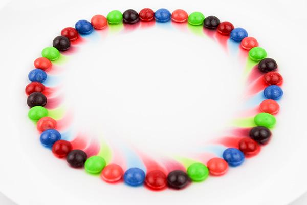 Skittles experiment for kids