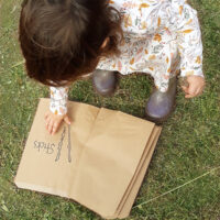 Toddler nature scavenger hunt