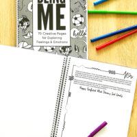 Feelings and Emotions printable journal