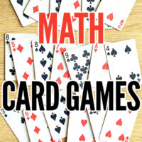 Math card games for children
