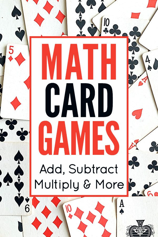 Math card games for kids