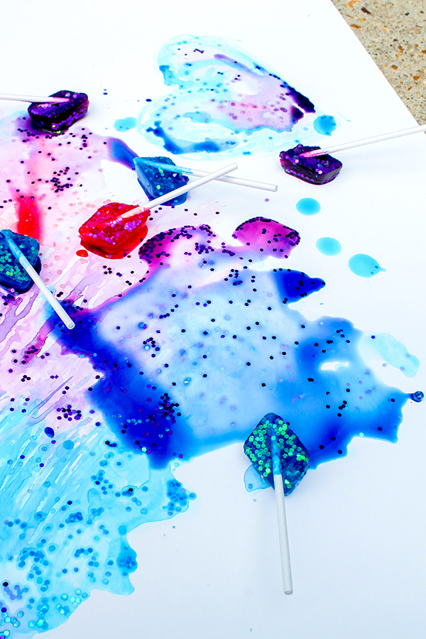 Ice painting ideas
