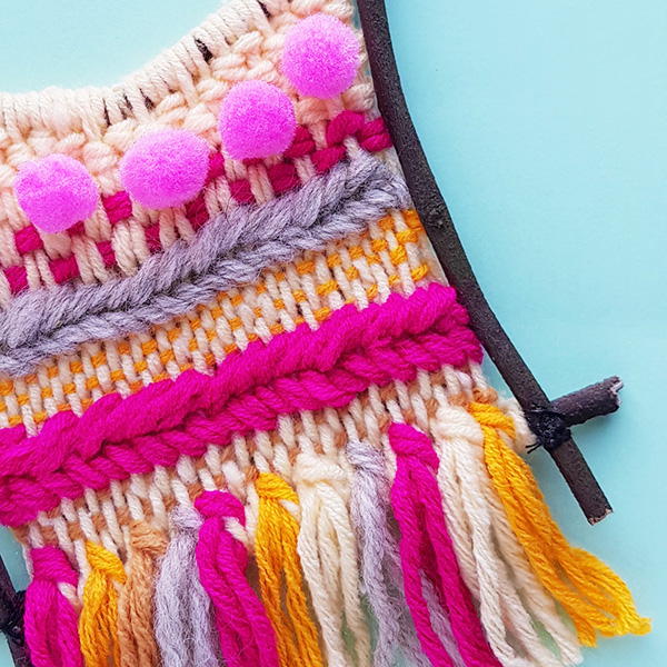 Kids creative weaving project ideas