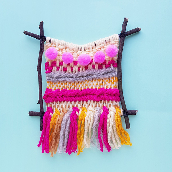 Tween craft ideas: Weaving project