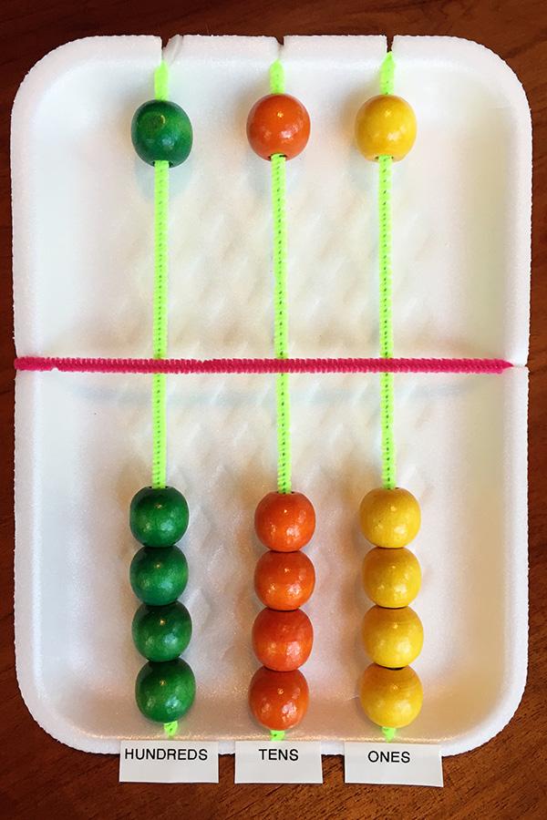 Homemade Abacus DIY