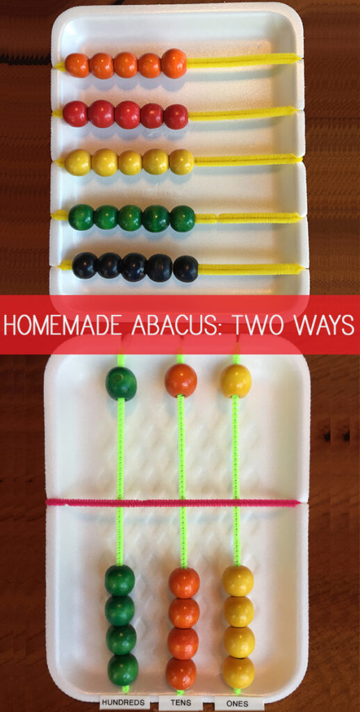 Homemade abacus tutorial with soroban