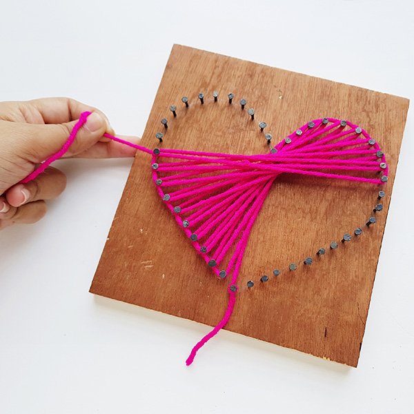 String art tween craft tutorial
