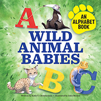 Wild Animal Babies alphabet picture book