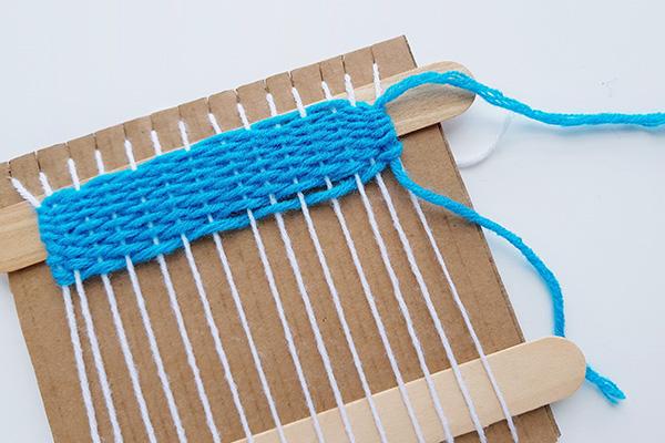 Kids weaving tutorial