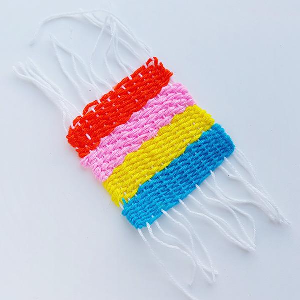 Beginning kids weaving ideas
