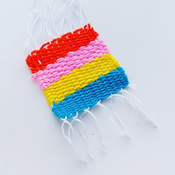 Simple kids weaving ideas