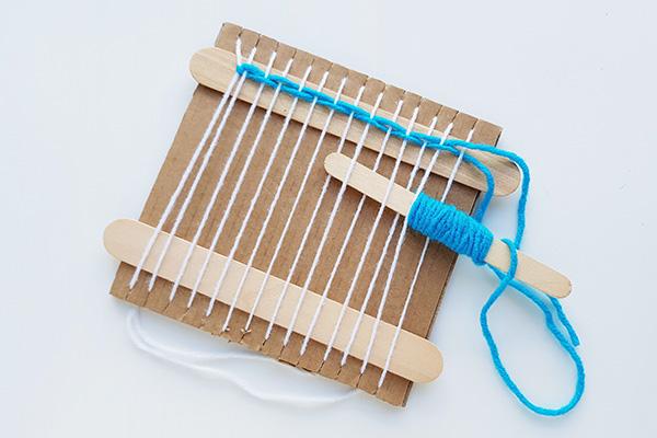 Kids weaving ideas