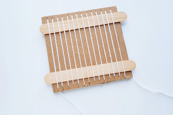 Beginning weaving for kids tutorial
