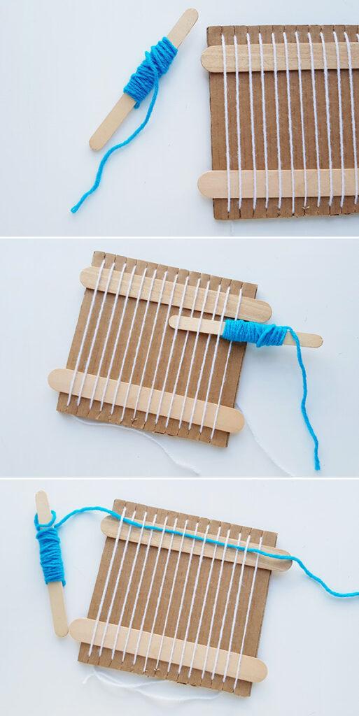 Kids weaving ideas tutorial