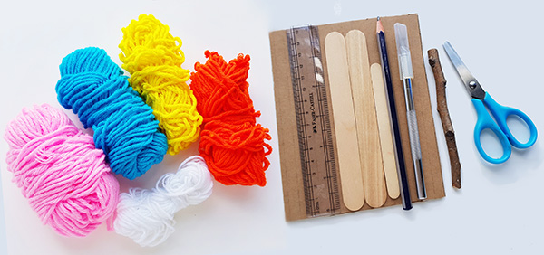 Weaving for kids supplies