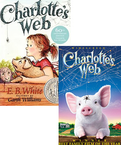 Charlottes Web book and movie