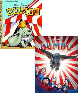 Dumbo movie and book
