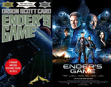 Ender's Game book and movie
