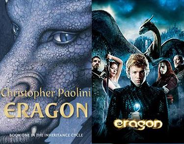 Eragon book and movie