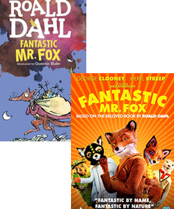 Fantastic Mr Fox movie and book