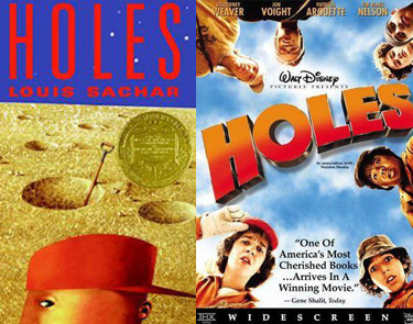 Holes book and movie