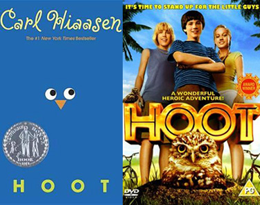 Hoot book and movie