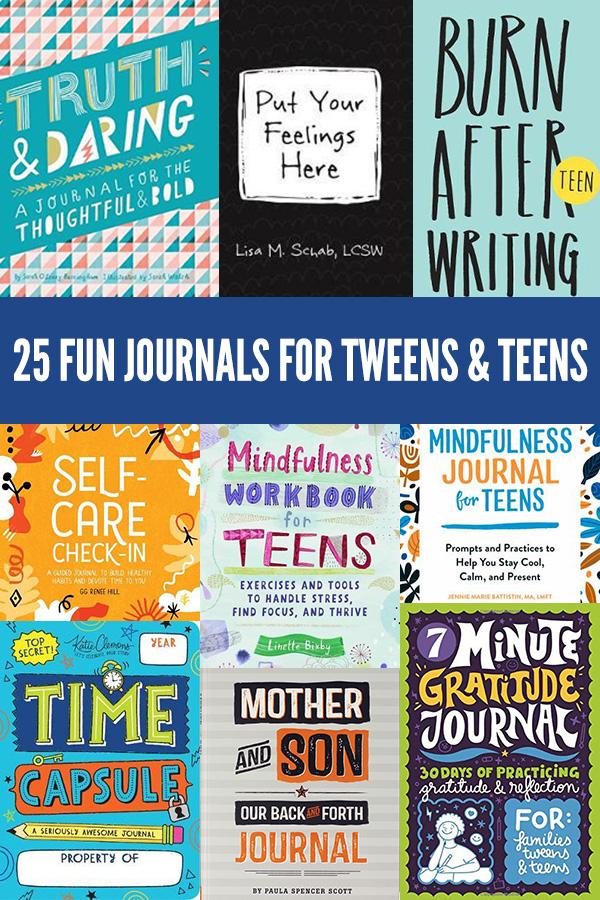 25 Journals for Teens and Tweens