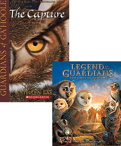 Legends of the Guardians book and movie