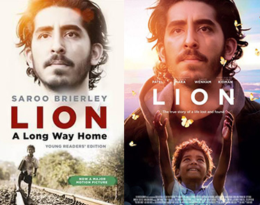 Lion book and movie