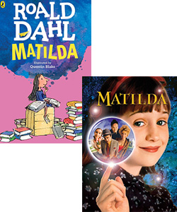 Matilda book and movie