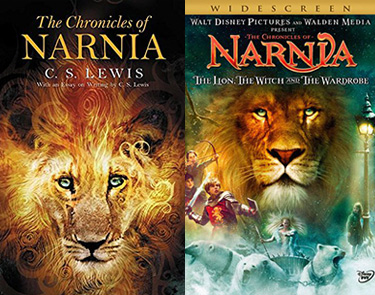 Narnia book and movie