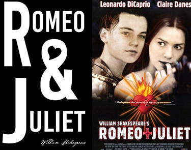 Romeo and Juliet movie and book