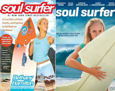 Soul Surfer movie and book