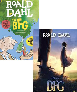 The BFG movie and book