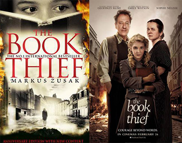 The Book Thief book and movie