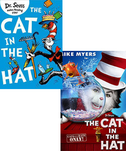 The Cat in the Hat book and movie