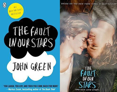 The Fault in Our Stars book and movie