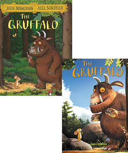 The Gruffalo movie and book