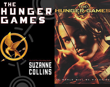 The Hunger Games book and movie