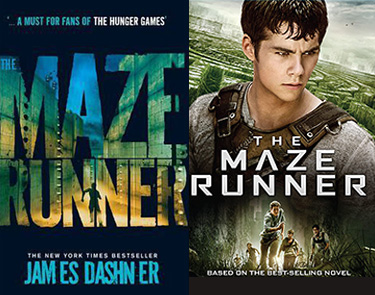 The Maze Runner book and movie
