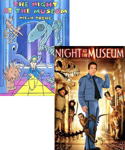 The Night at the Museum book and movie
