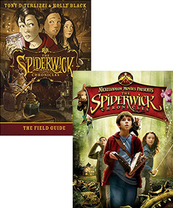 The Spiderwick Chronicles movie and book